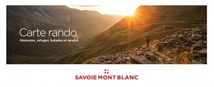 carte rando Savoie Mont Blanc