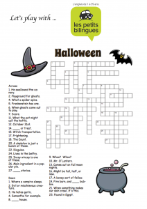 Haalloween crosswords